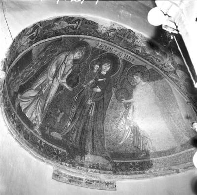 Press and Information Office, Republic of Cyprus: Kiti, Panagia Angeloktiste, Mother of God and Christ Child with Archangels (4A-012-004)
