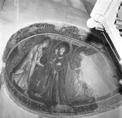 Press and Information Office, Republic of Cyprus: Kiti, Panagia Angeloktiste, Mother of God and Christ Child with Archangels (4A-012-005)
