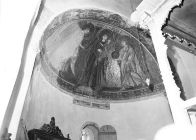 Press and Information Office, Republic of Cyprus: Kiti, Panagia Angeloktiste, Mother of God and Christ Child with Archangels (4A-012-006)