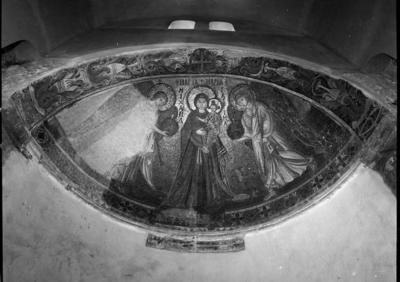 Press and Information Office, Republic of Cyprus: Kiti, Panagia Angeloktiste, Mother of God and Christ Child with Archangels (4A-078-001)