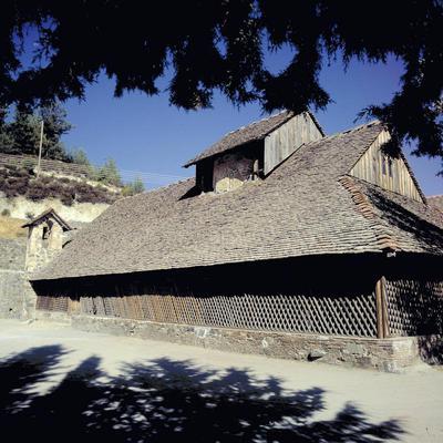 Press and Information Office, Republic of Cyprus: Lagoudhera, Panagia of Arakas (Code: arakas02)