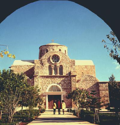 Press and Information Office, Republic of Cyprus: Agios Sergios (near Salamis), Saint Barnabas church (1-38-8)