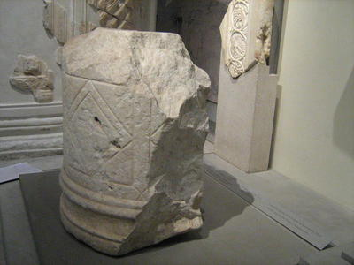 The ''ambo'' of the Octagon of the Galerius Palace Complex (now in the Museum of Byzantine Culture of Thessaloniki)