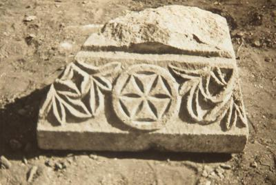 Capital from the Baths of the Octagonal Church Complex of Philippi, Macedonia, Greece
