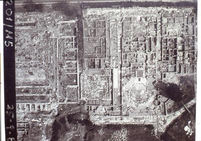 Octagonal church complex, Philippi, Macedonia, Greece.