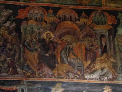Monastery of Agios Nikolaos of Philanthropinoi, Lake Pamvotida, Ioannina, Greece