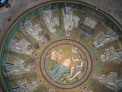 Baptistery of the Arians , Ravenna, Italy