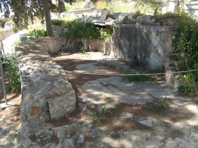 Basilica of Asklepieion, south slope of Acropolis, Athens, Greece