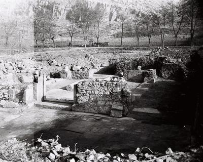 Octagonal church complex, Philippi, Macedonia, Greece