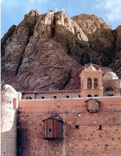 Saint Catherine's Monastery, Sinai Peninsula, Egypt