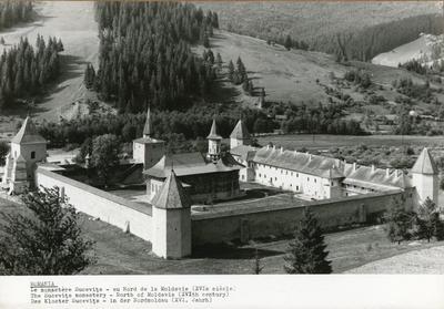 Romania. Le monastère Sucevița- au Nord de la Moldavie (XVIe siècle). The Sucevița monastery - North of Moldavia (XVIth century). Das Kloster Sucevița- in der Nordmoldau (XVI. Jahrh)