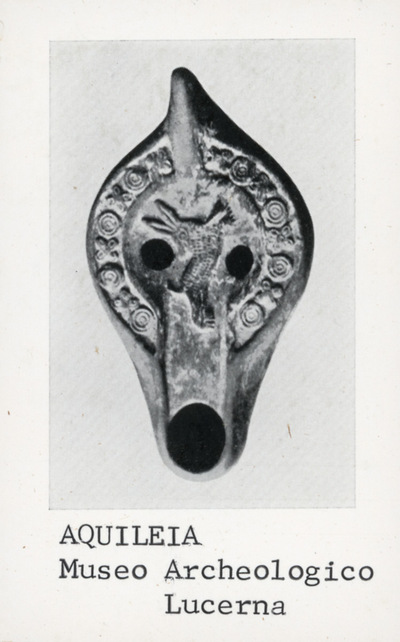 Aquileia - Museo Archeologico: lucerna