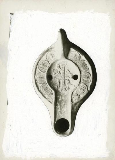 Aquileia - Museo Archeologico: lucerna cristiana
