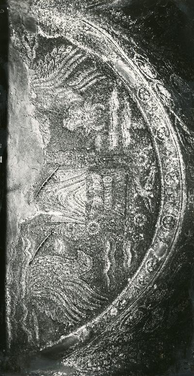 S. Prisco (Caserta). Cappella di S. Matrona: mosaici (Foto Soprintendenza Monumenti Campania n. 797 B)