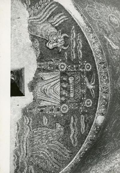 S. Prisco (Caserta). Cappella di S. Matrona: mosaici (foto E.P.T. Caserta)