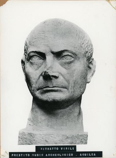 Ritratto virile. Prestito Museo Archeologico Aquileia