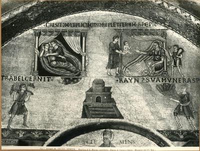 Venezia. Basilica di S. Marco (vestibolo). Storia di Caino e Abele (Musaico del XII secolo)