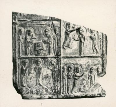 Atene (Grecia). Museo Benaki. Icona in steatite