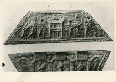 Londra (Gran Bretagna): British Museum: capsella di Projecta