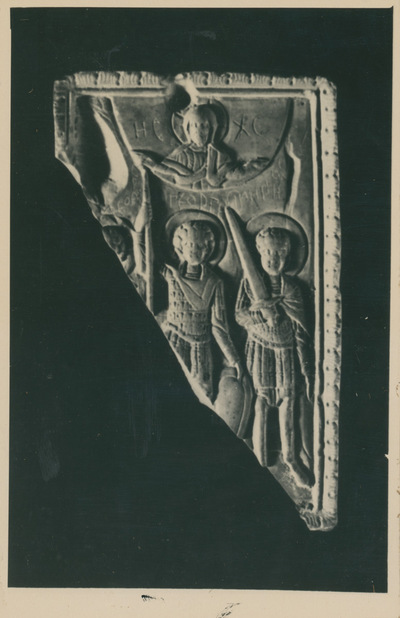 Icona in Steatite trovata a Veliko Tirnovo (Bulgaria)
