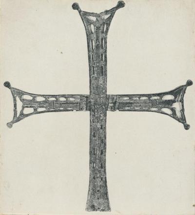 Ravenna. Museo Nazionale. La croce che sormontava la cupola di S. Vitale
