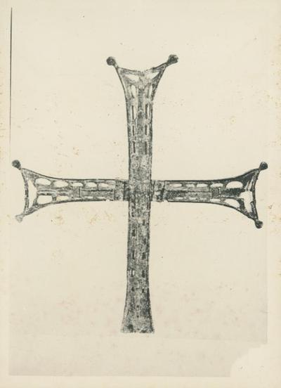 Ravenna. Museo Nazionale. La croce da San Vitale