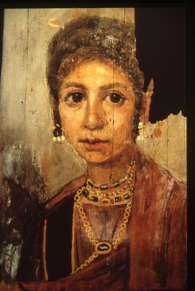 Treviri, Stadtliches Museum, Simeonstift, female portrait