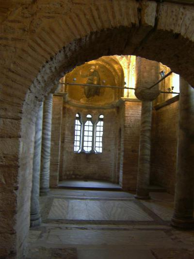 Turkey, Istanbul, church of the Theotokos Pammakaristos (parekklesion) - Fethiye Museum