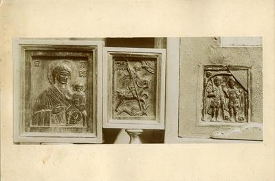 Vatican Museums, wooden and steatite icons