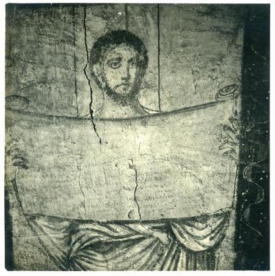 Muñoz - Un profeta dipinto nel sec. III nella sinagoga di Dura Europos - Mission de Doura Europos, Syrie. Campagne 1932-1933 - Photo Maurice Le Palud N. 1.231