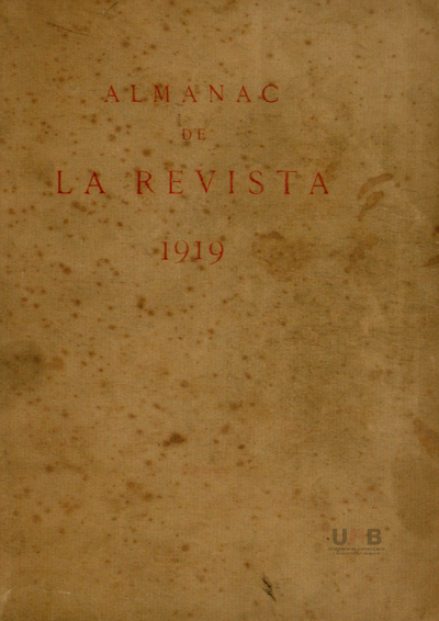 Almanac de La Revista : recull de les arts i de les lletres catalanes d'avui