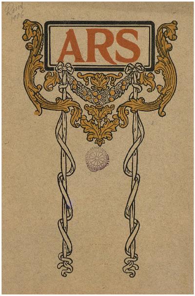 Ars : revista del Centro de Lectura