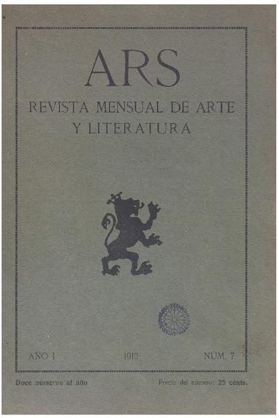 Ars : Ilustración artística y literaria