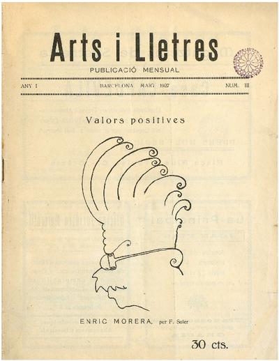 Arts i lletres : Publicació mensual