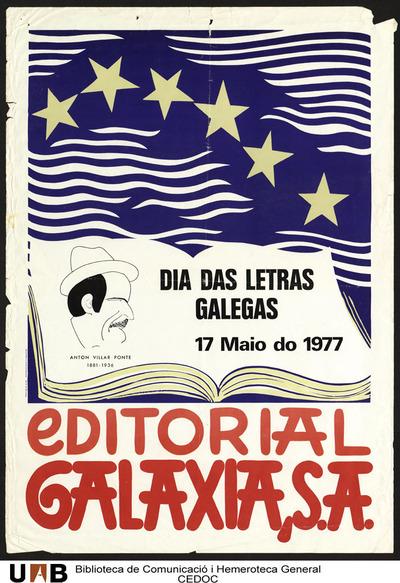 Dia das Letras Galegas 17 Maio do 1977