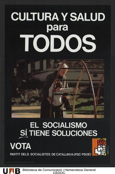 Cultura y salud para todos el socialismo sí tiene soluciones : ... /