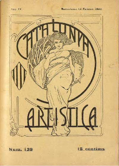 Catalunya artística : setmanari il·lustrat de literatura, arts y teatros