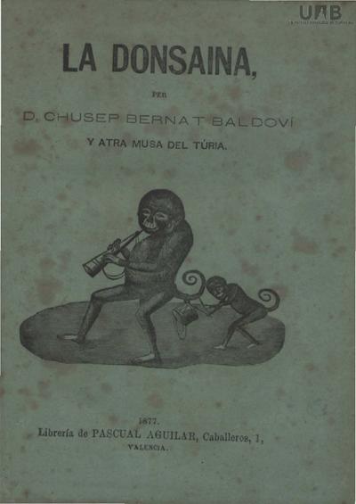 La Donsayna : colecsió de música alegre y divertida en solfa valenciana /