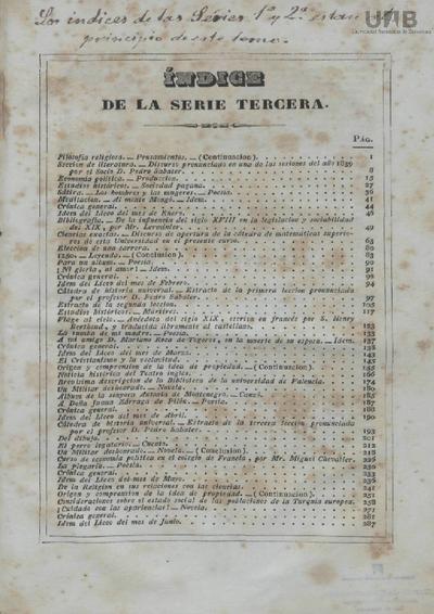 Liceo valenciano : periódico mensual de literatura, ciencias y bellas-artes