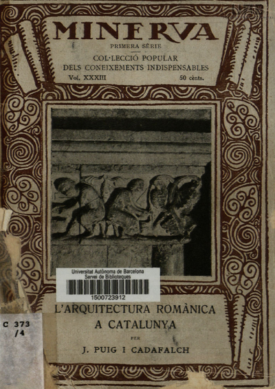 L'Arquitectura romànica a Catalunya /