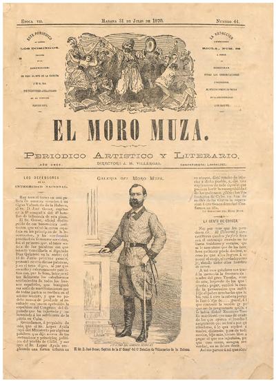 El Moro Muza : periódico artístico y literario