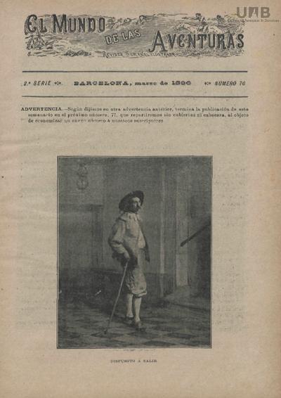 El Mundo de las aventuras : revista semanal ilustrada.