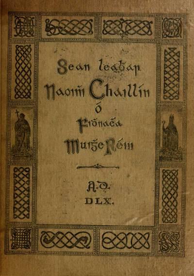 Book of Fenagh in Irish and English