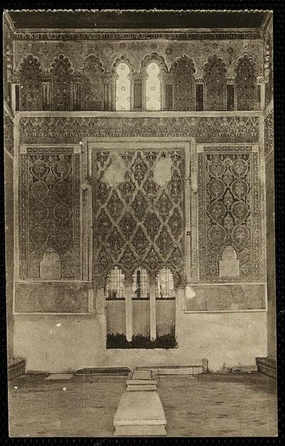 Toledo : Detalle de la Sinagoga.-.