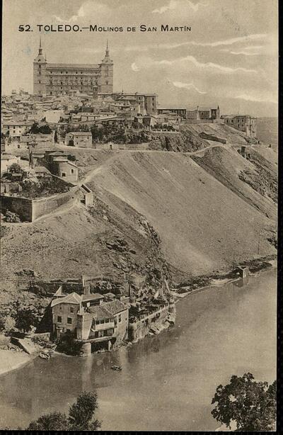 Toledo : Molinos de San Martín.-.