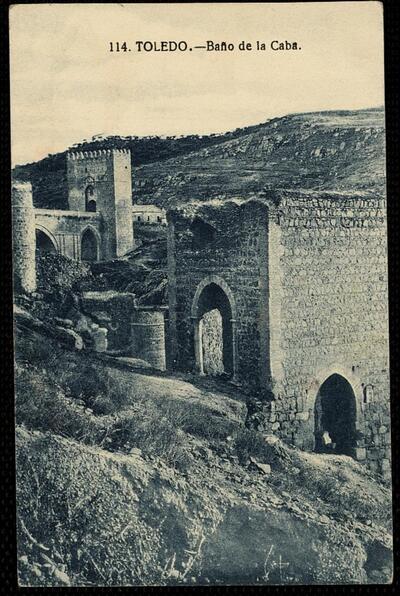 Toledo : Baño de la Cava.-.