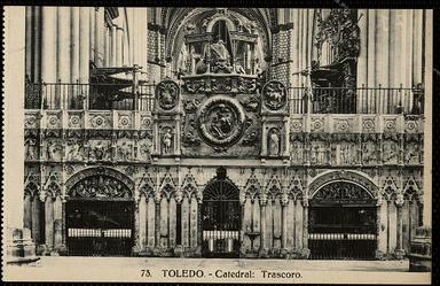Toledo : Catedral : Trascoro.-.