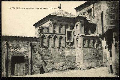 Toledo : Palacio de Don Pedro el Cruel.-.