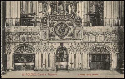 Toledo : Catedral. Trascoro / Linares, fotóg.-.
