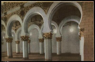 Toledo : Santa María la Blanca.-.